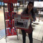 Ganadora sorteo vía SMS del 14 setiembre - Claudia Pagua
