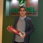 Ganadora: Andrea Troccoli Retira en foto: Andrés Rodríguez