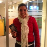 Ganadora: Lilian Oliva, Recibe su nombre (en foto): Mabel Alejandra Silvera Andreoli