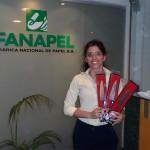 Ganador: Federico Miguel Semino, Retira en su nombre (en foto): Reina Viviana Jacques