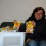 Ganadora: Zuleika Eguren. Retira en su nombre (en foto) Zully Peixoto