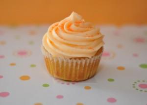 muffin naranja